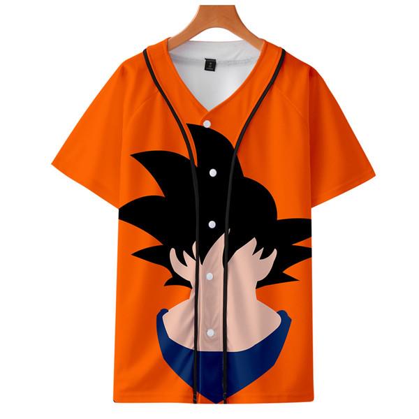 Legal E Moda 3D Impressão Harajuku Baseball T-shirt Das Mulheres / Homens Estilo Moda HIP HOP T-shirt de Beisebol de Manga Curta