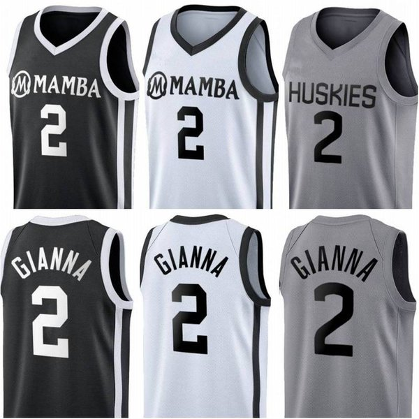 top popular Stitched Gianna Maria Onore Jersey UConn Huskies Special Tribute College 2 Gigi Mamba Memorial Basketball Jerseys 2020