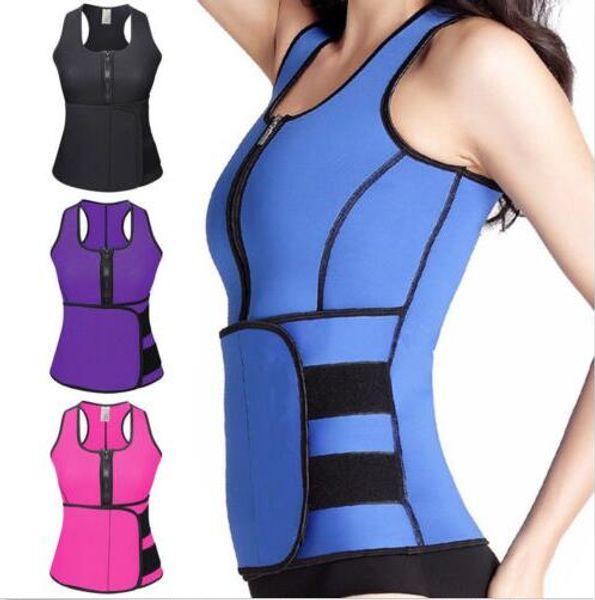 f41e01d84 Sweat Sauna Women Neoprene Waist Shaper Thermo Vest PlUS SIZE ...