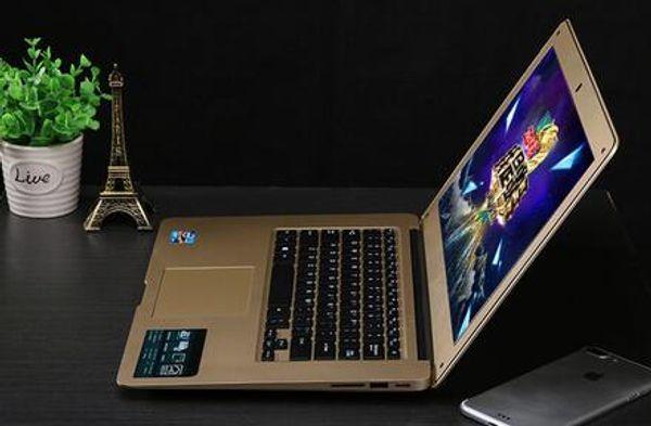 Laptop da 14 pollici Laptop intel i5 Russian Window 10 attivato MS office installato Ultrathin battery notebook da lavoro enorme