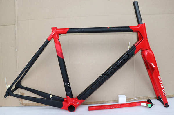 Newest 2019 C64 carbon road frame full T1100 carbon bicycle frameset fit di2/mechanic 7 colors available carbon bike frame