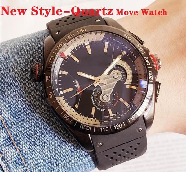 (Не механические часы) Горячая продажа Мужские часы Автоматическое движение 2813 Черный циферблат мужские серии ROYAL OAK часы 15400 Силиконовые часы MONTRE