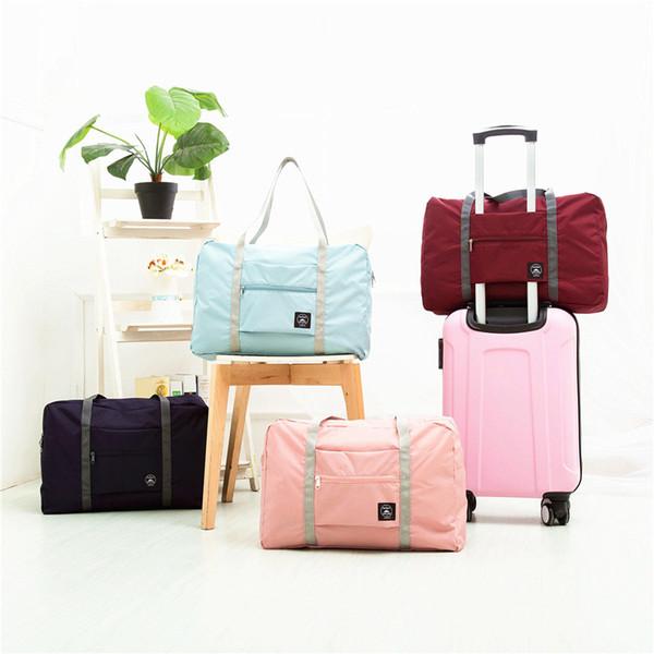 Faltbare Reiseaufbewahrungstasche Handgepäck Organizer Tote Große Faltbare Schulter Duffel Handtaschen Männer Frauen