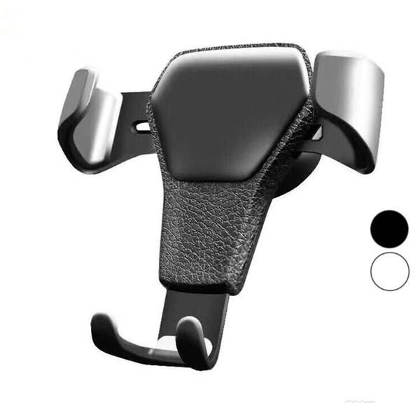 Gravedad Soporte para coche para teléfono en el soporte de clip de ventilación de aire del coche Sin soporte magnético Soporte para teléfono celular Soporte para teléfonos inteligentes