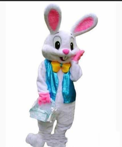 Factory sale hot PROFESSIONAL EASTER BUNNY MASCOT COSTUME Bugs Rabbit Hare Adult Fancy Dress Cartoon Suit nji