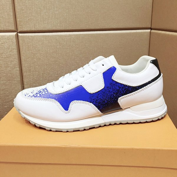 Alta qualità Run Away Scarpe da uomo scarpa da tennis Drop Ship classico di modo leggero scarpe traspiranti Fashion Casual Top Lace-up Low Scarpe Uomo