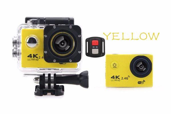 Moins cher 4K Action caméra F60R WIFI 2.4G Télécommande étanche caméra vidéo 16MP / 12MP 4K 30FPS Enregistreur de plongée JBD-N5