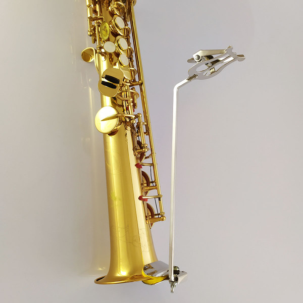Treble straight tube saxophone travel folder
