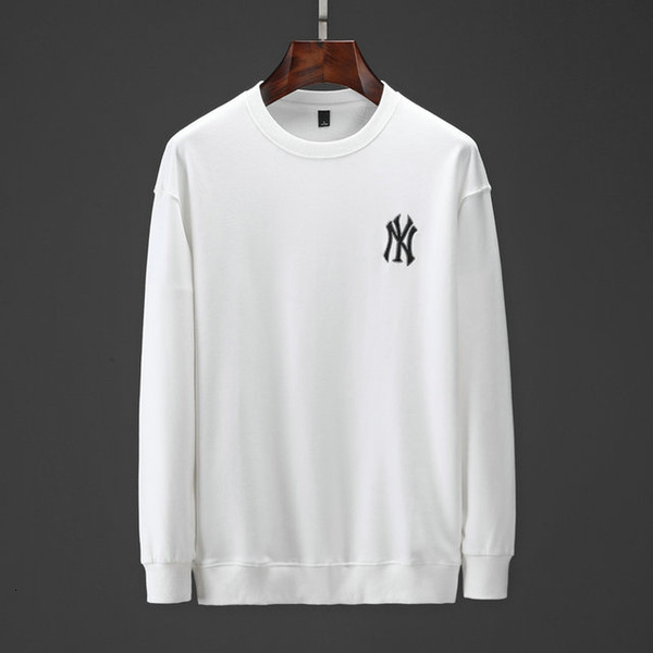 Elegante 19SS Herbst neue Art und Weise Männer Pullover Im Freien Lässige Pullover Ursprünglicher Entwurf Exquisite Stickerei vollkommene Qualität W90012