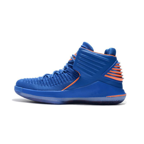 Cheap new Men Jumpman XXXII 32 high top basketball shoes orange Why Not 32s outdoor Russell Westbrook AJ32 sneakers boots With box for sale