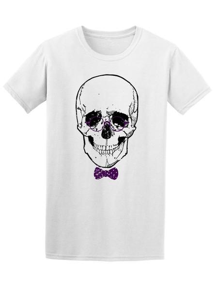 Camiseta Masculina Crânio Hipster - Imagem por Atacado