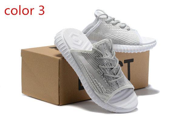 2019 Best Quality V2 Mens Slippers Shoes Static Reflective True Form Clay Men flip flops Women slipper designer slides Size 36-45
