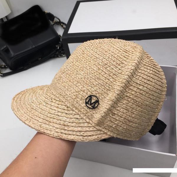 라피트 밀짚 모자 나들이는 밀짚 모자 여성 패션 조커 해변 태양 모자 작은 순수하고 신선하고 모자 느끼고을 방지 할 수있다