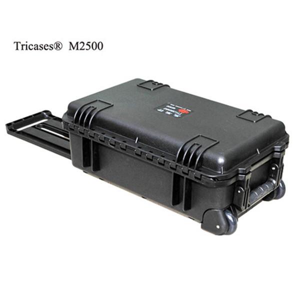 Venda quente! M2500 Xangai Tricases fábrica novo estilo casos PP impermeável equipamentos duro com espuma de cubo