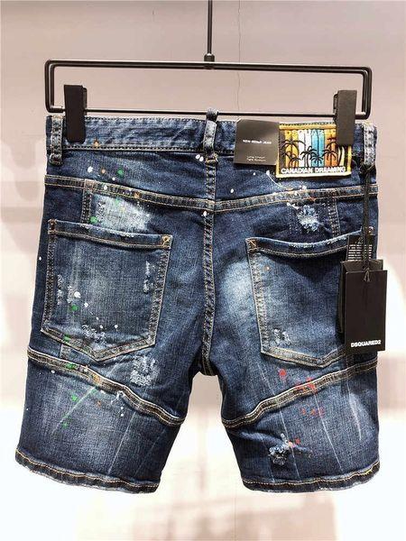 2019 Yaz Yeni Adam Kadar Bel Küçük Düz Ayak Pantolon ## D103