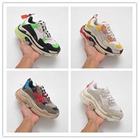 2019 Роскошный дизайнер моды для мужчин Wave Runner Женщины тройной шоссейный шарп zapatos мужские hommes femmes Speed Trainer кроссовки