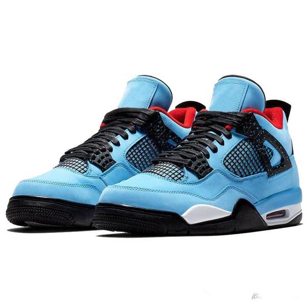 2019 new listing hoccal FIBA NEON Bred mesh knit Bred denim LVS jeans white blue black Travis Scott Raptor Drake 4s boy basketball shoes oFF