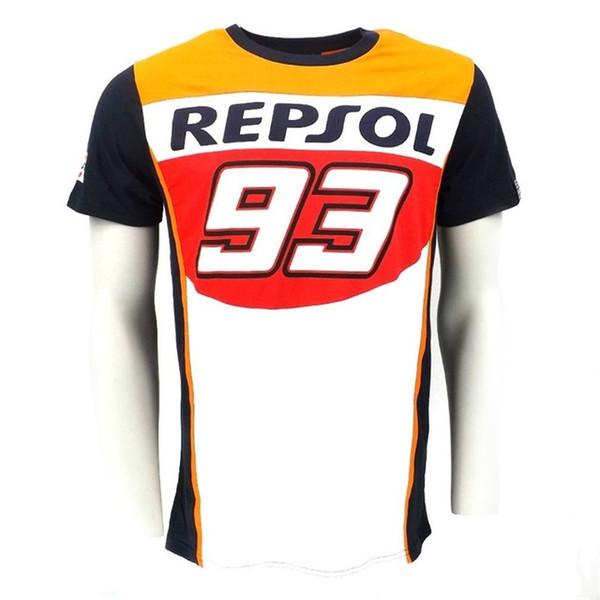 Offerte Hot 93 Moto GP T-shirt all'ingrosso Motocross Moto Dirt Bike MX ATV L G