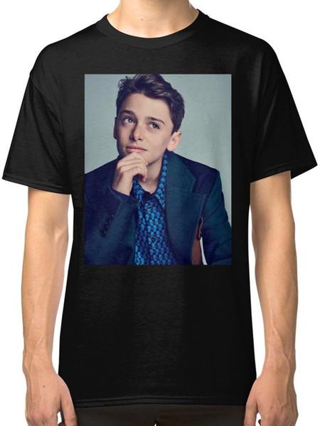 Noah Schnapp Männer T-Shirts Kleidung T-Shirts S-2XL Angst Cosplay Liverpoott Tshirt Herren Stolz dunklen T-Shirt
