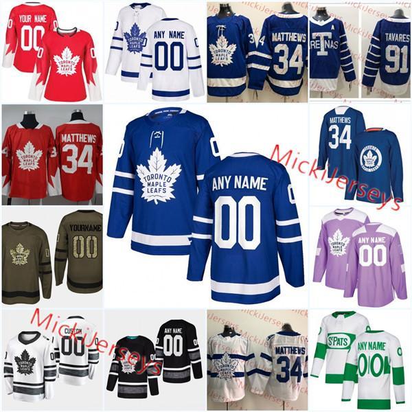 the latest b481c 93120 Custom Toronto Maple Leafs Wendel Clark Jersey Morgan Rielly Frederik  Gauthier Kasperi Kapanen Doug Gilmour Tim Horton Mats Sundin Jersey UK 2019  From ...
