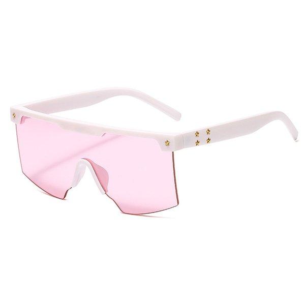 C7 Белый - Розовый + -