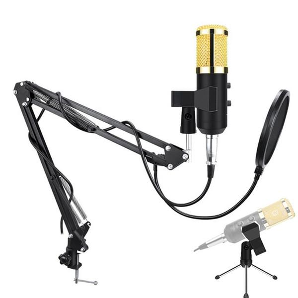 Professional Condenser USB Microphone BM900 for computer BM-900 Upgraded Audio Studio Vocal Recording KTV Adjustable volume