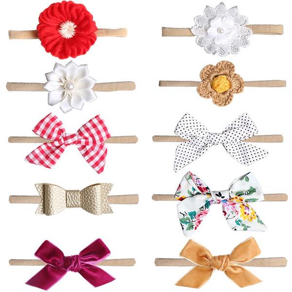 hair accessories Bohemian Unicorn cotton girl baby bow Headband jojo siwa Head Wrap Twisted Knot Soft Hair band Headbands Bandanas