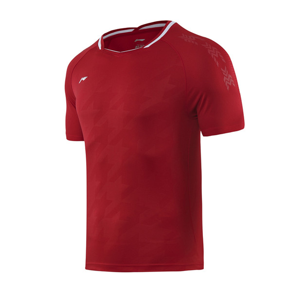 men red shirts
