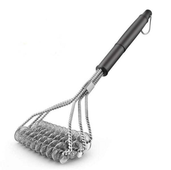 """Stainless Steel Grill Cleaning Brush 18"""" Barbecue Long Handle Cleaner Durable Cooking Brushes Cleaning Brushes BBQ Tools GGA2299"""