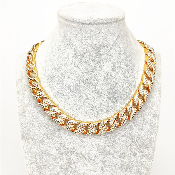 Золотое ожерелье 42см