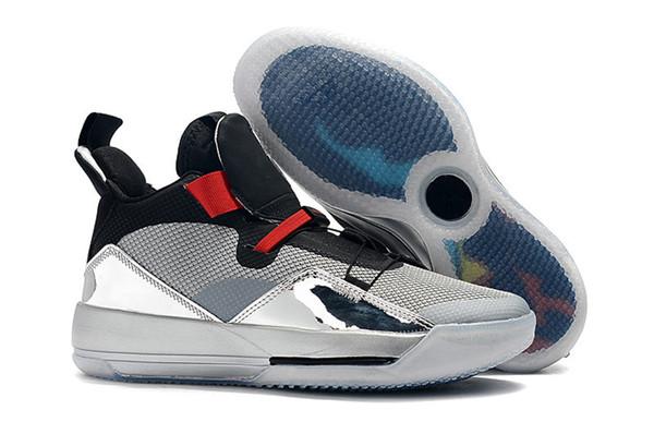 stable quality best prices popular brand Acquista Nuove Scarpe Griffate 33s XIII Nero Argento Uomo Scarpe Da Basket  Sneakers Sportive Sneakers 2019 Taglia Alta Qualità 7 12 A $53.81 Dal ...
