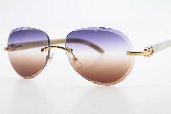 Gold purple Brown Lens