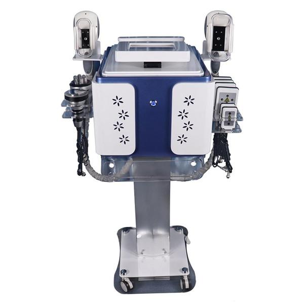Cryolipolysis gordura congelamento máquina Lipo Laser crioterapia 40K cavitação RF emagrecimento máquina para clínica de beleza Equipamento