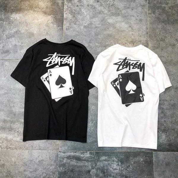 Горячая футболка дизайнер футболки мужские хип-хоп футболка 19ss новая мода роскошные печатные футболка бренда мужские футболки бесплатная доставка на заказ футболки