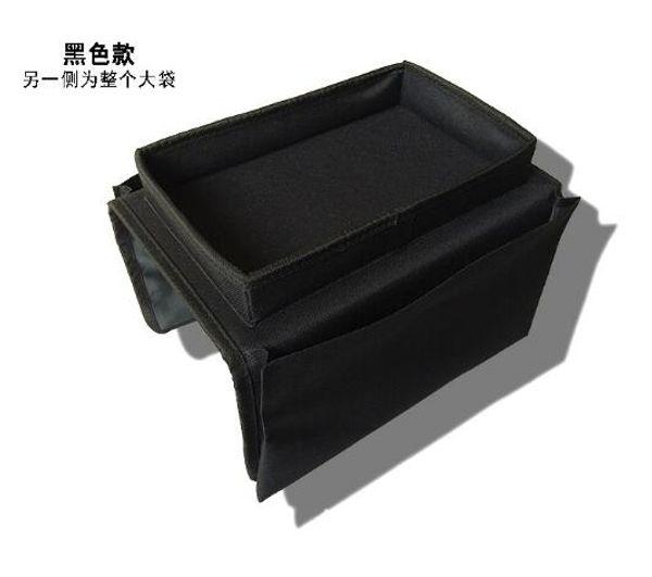 Foldable Sofa Chair Arm Rest 6 Pocket Organiser Couch Remote Control Table Organizer Storage Tray Holder Magazine Rack Caddy Bag
