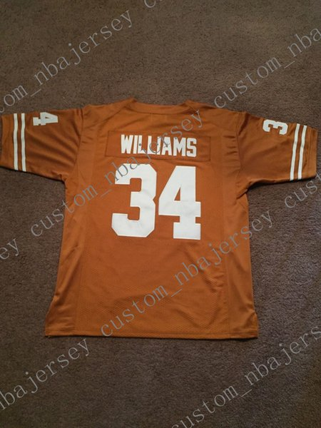 a91248814 Cheap custom 1998 Ricky Williams Texas Longhorns NCAA Football Jersey  Stitch customize any number name MEN WOMEN YOUTH XS-5XL