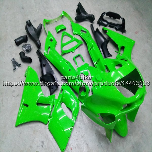 23colors + 5Gifts Injection mold green Carenatura per moto Kawasaki ZZR400 93-07 ZZR 400 1993-2007 kit in plastica ABS