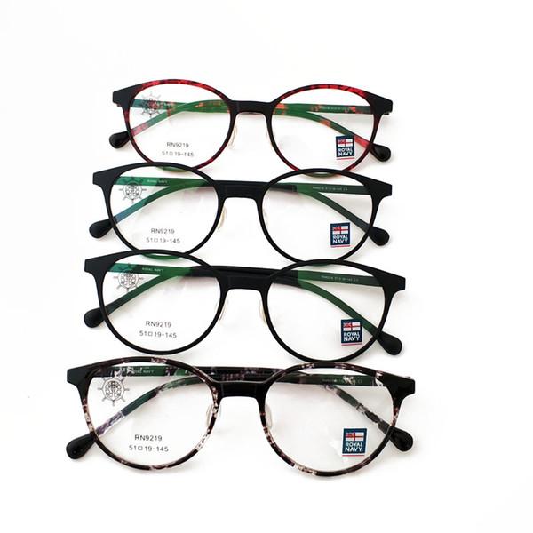 Fashion Eyeglasses Frame Anti Computer Radiation Design Eyewear Clear Lenses Uv400 Optical Round Frame 4 Colors