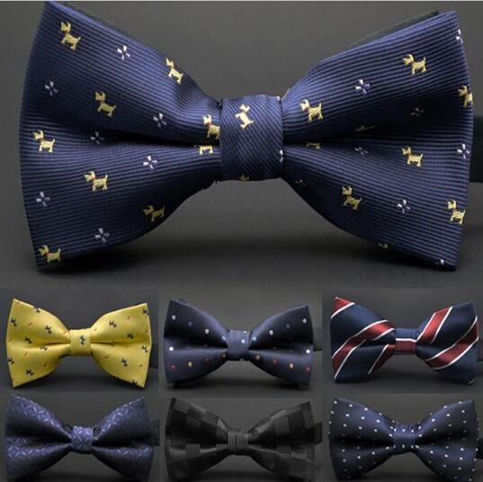Homem de Moda de alta qualidade Coreano Laços de Seda Ajustar a fivela Bowknot 32 cores dos homens gravata Gravata de casamento para o Dia dos Pais gravata Chris