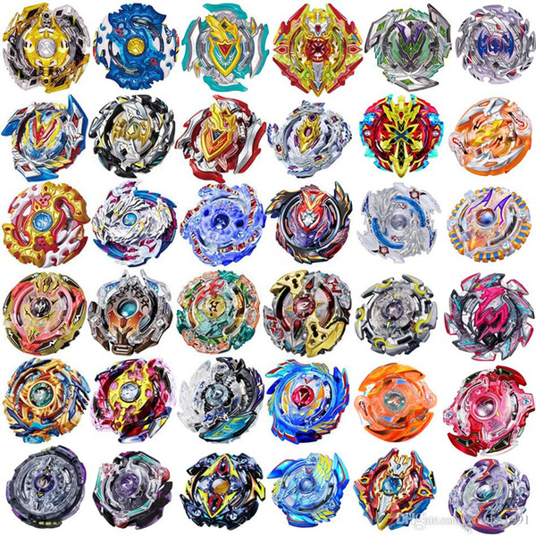 top popular Hot Style 4D Beyblade Burst Toys Arena Without Launcher and Box Beyblades Metal Fighting Gyro Fusion God Spinning Top Bey Blade Blades Toy 2019