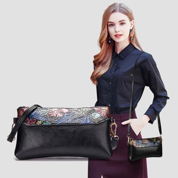 2019 Мода одно плечо сумка с Slant Patterns Простой карманный сумка с Карманные Портмоне Топ высокого качества Женская сумка Оптовая B101865Y