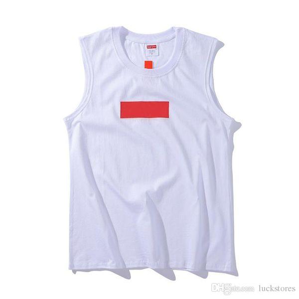 Box logo marque débardeurs mens designer de haute qualité mode débardeur lettre classique logo impression tendance débardeurs coton avec marque t-shirts