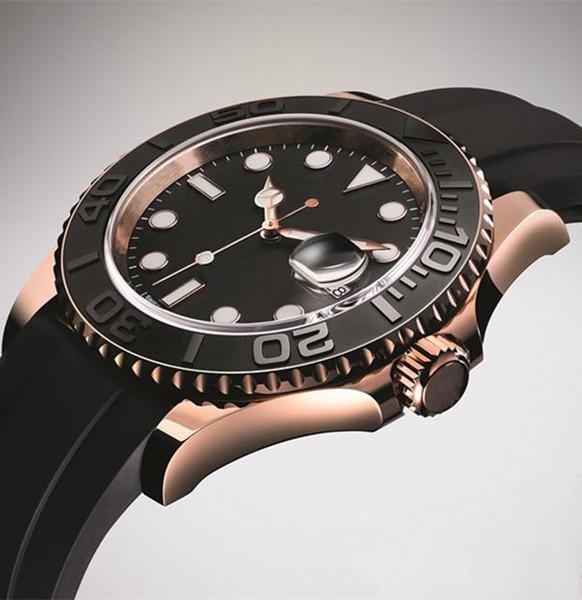 2019 luxury designer men's watch sports military quartz black rubber belt waterproof men Swiss mens watches Date Wristwatch Montre de luxe