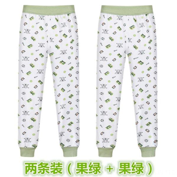 2 piezas de fruta verde (patrón al azar)