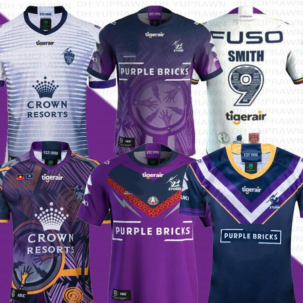 best selling 19 20 Rugby Jersey MELBOURNE STORM 2019 Indigenous Commemorative Jersey 2019 NRL Maillot de rugby Australia Rugby Formas League Jersey