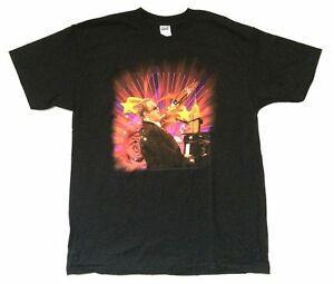 Elton John Yıldız RoShort-Sleeveet Man Tour 2008 BlaShort-Kollu T Gömlek Yeni Resmi