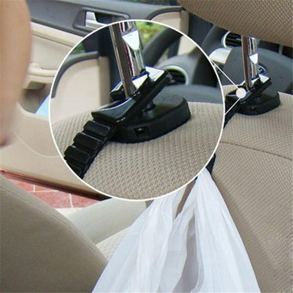 best selling 2PCS lot Plastic Auto Car Truck Suv Shopping Bag Holder Seat Hook Hanger my30 dropshipping Dependable Hot