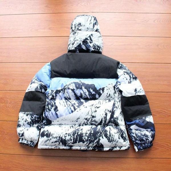A estrenar Mountain Baltoro Abajo Chaqueta 17FW Chaquetas de diseñador para hombre Para mujer Chaqueta rompevientos Lujo Chaqueta de invierno Chaqueta de abrigo Ropa de abrigo