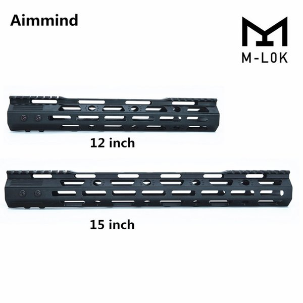 tactical float mlok handguard picatinny rail mount scope mount with steel barrel nut for .223 5.56 ar15 m16 m-lok m4