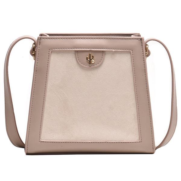 Simple Retro Handbag 2019 Autumn and Winter New Wave Wild Messenger Bag Foreign Fashion Small Square Bag